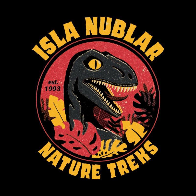 Isla Nublar Nature Treks Women's T-Shirt by DinoMike's Artist Shop