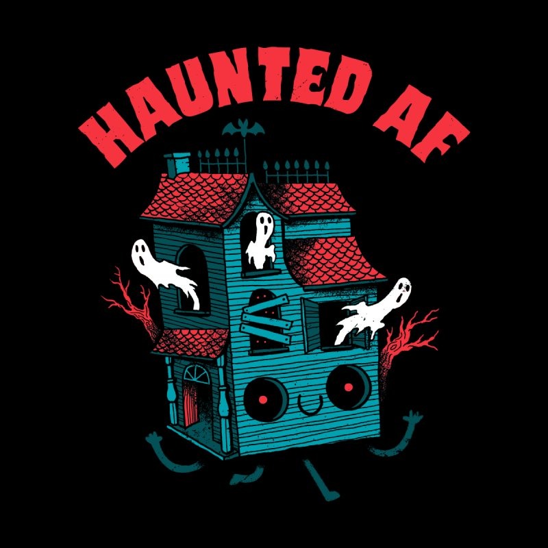 Haunted AF Women's Tank by DinoMike's Artist Shop