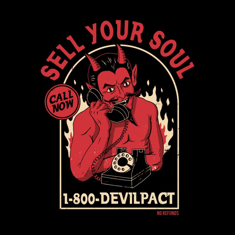 Sell Your Soul Women's Sweatshirt by DinoMike's Artist Shop