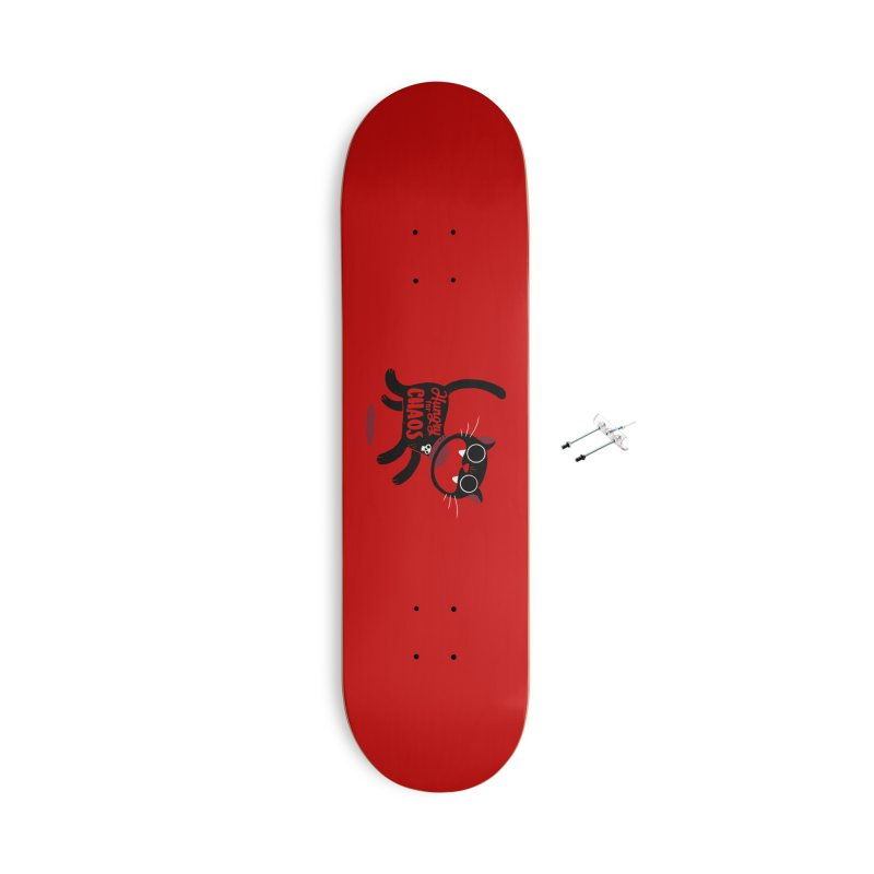 Hungry For Chaos Accessories Skateboard by DinoMike's Artist Shop