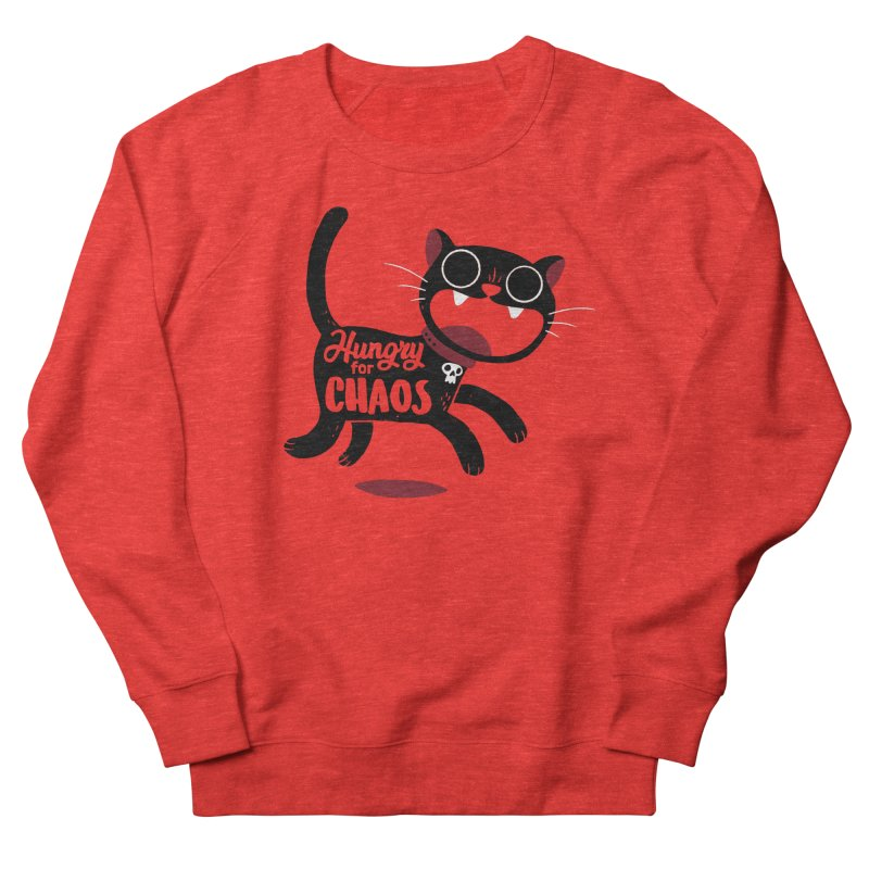 Hungry For Chaos Women's Sweatshirt by DinoMike's Artist Shop