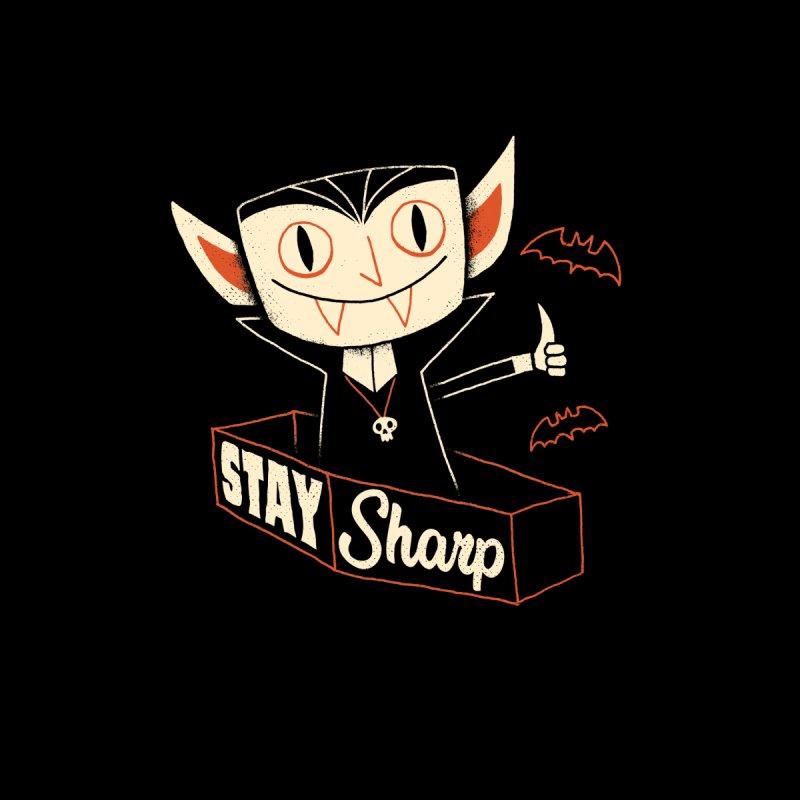Stay Sharp Men's T-Shirt by DinoMike's Artist Shop