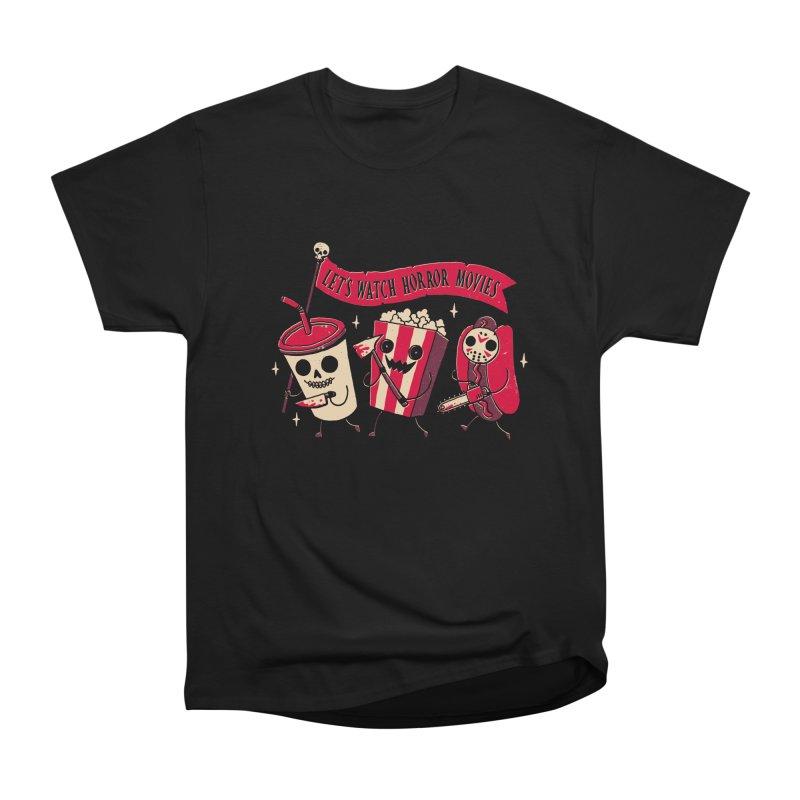Midnight Movie Women's T-Shirt by DinoMike's Artist Shop