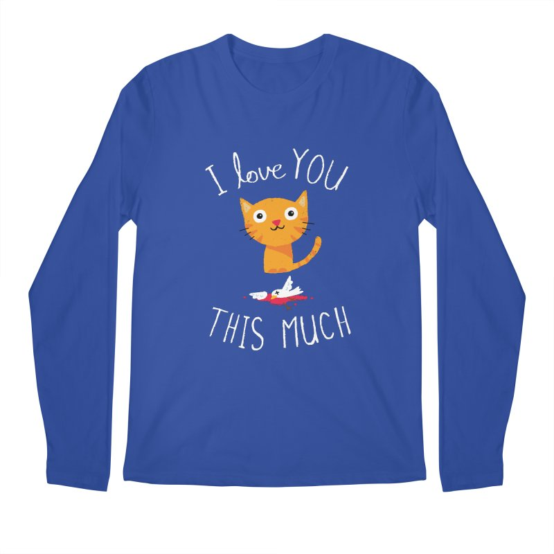 I Love You This Much Men's Longsleeve T-Shirt by DinoMike's Artist Shop