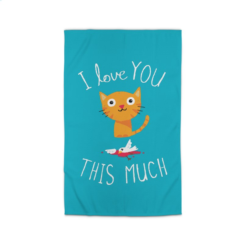 I Love You This Much Home Rug by DinoMike's Artist Shop