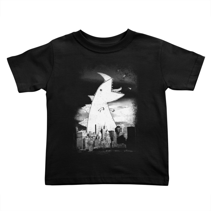 Attack Kids Toddler T-Shirt by DinoMike's Artist Shop