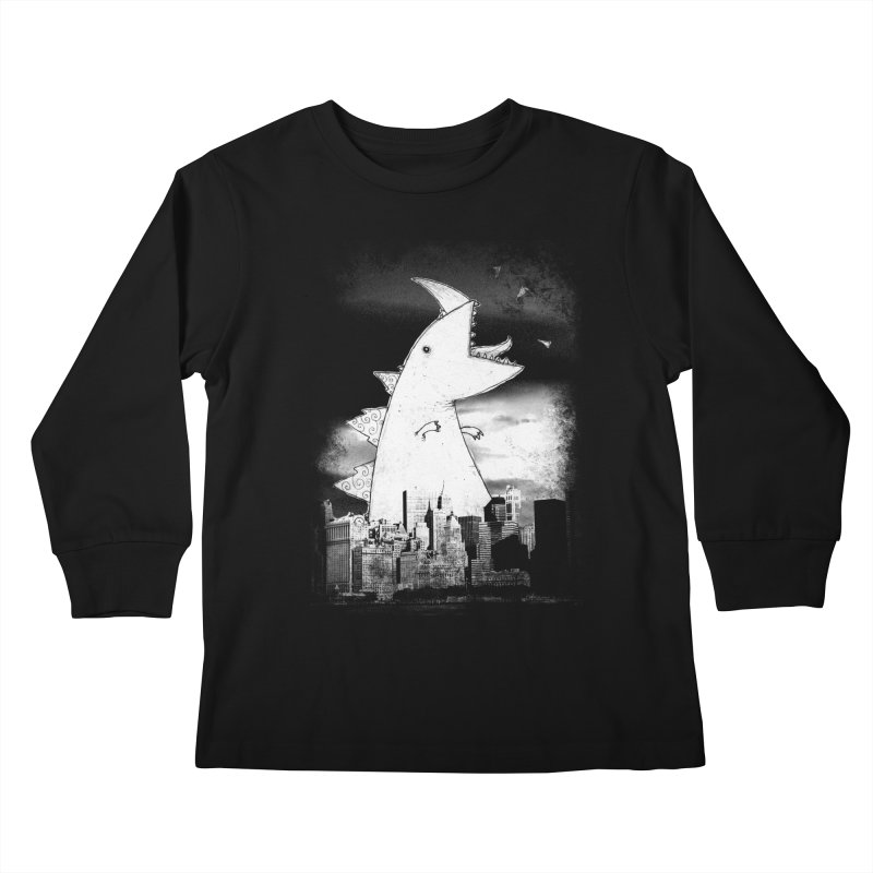 Attack Kids Longsleeve T-Shirt by DinoMike's Artist Shop