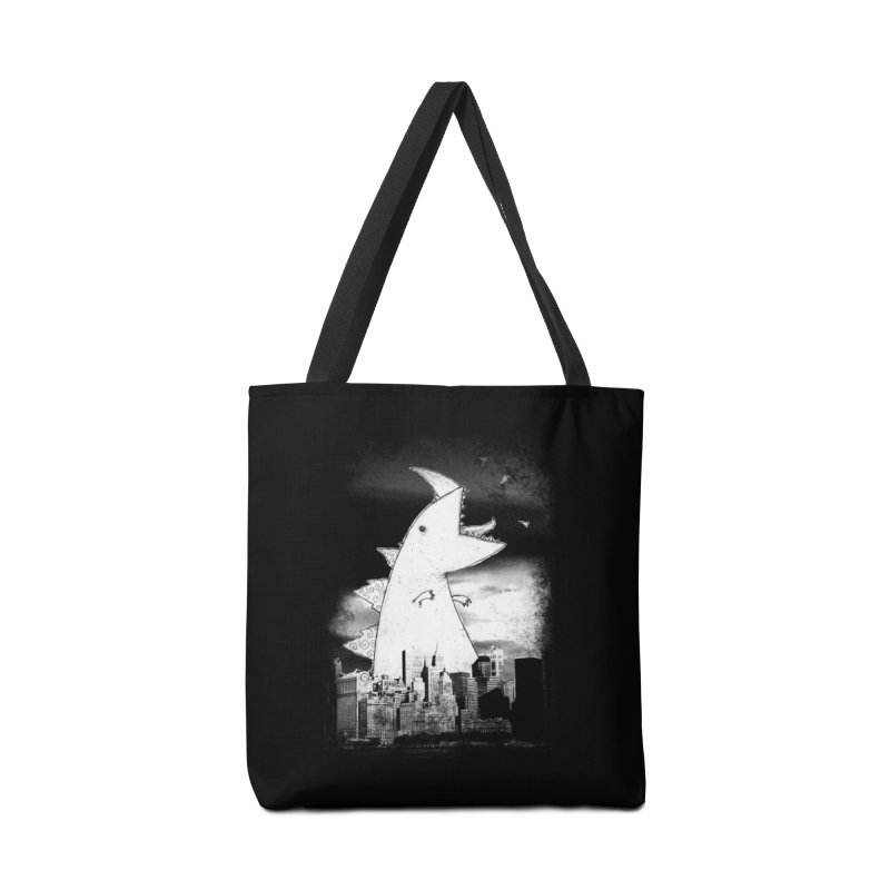 Attack Accessories Tote Bag Bag by DinoMike's Artist Shop