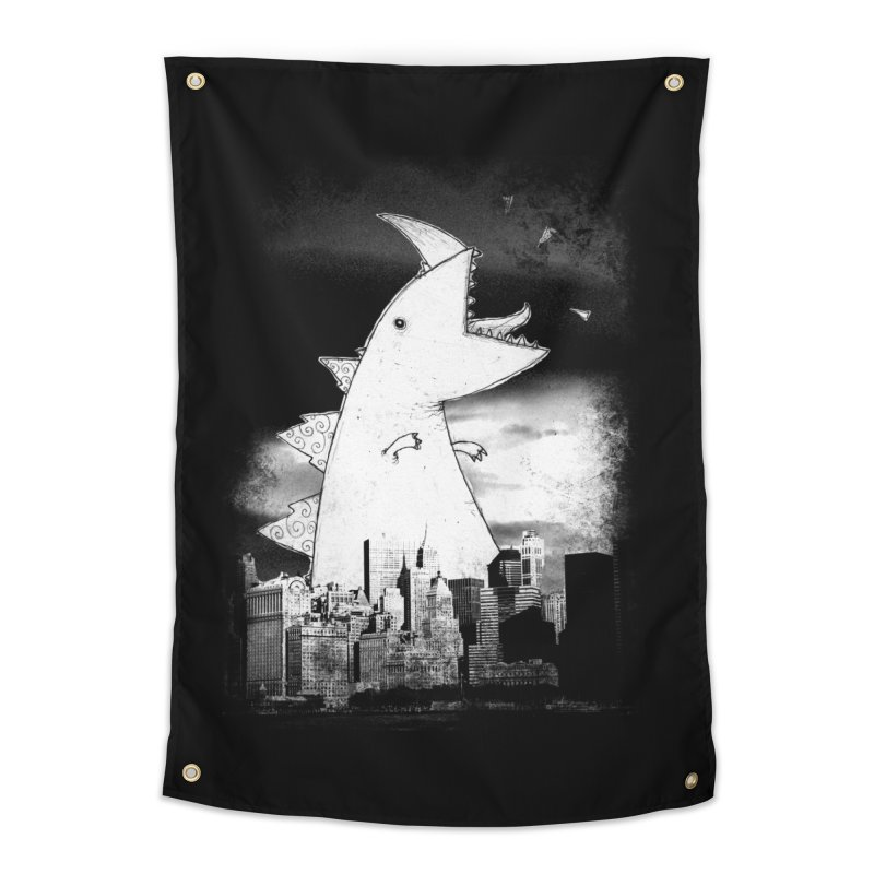 Attack Home Tapestry by DinoMike's Artist Shop
