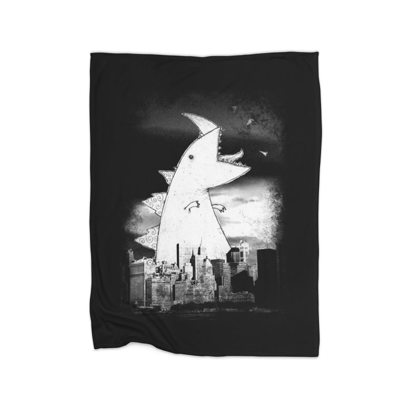 Attack Home Blanket by DinoMike's Artist Shop