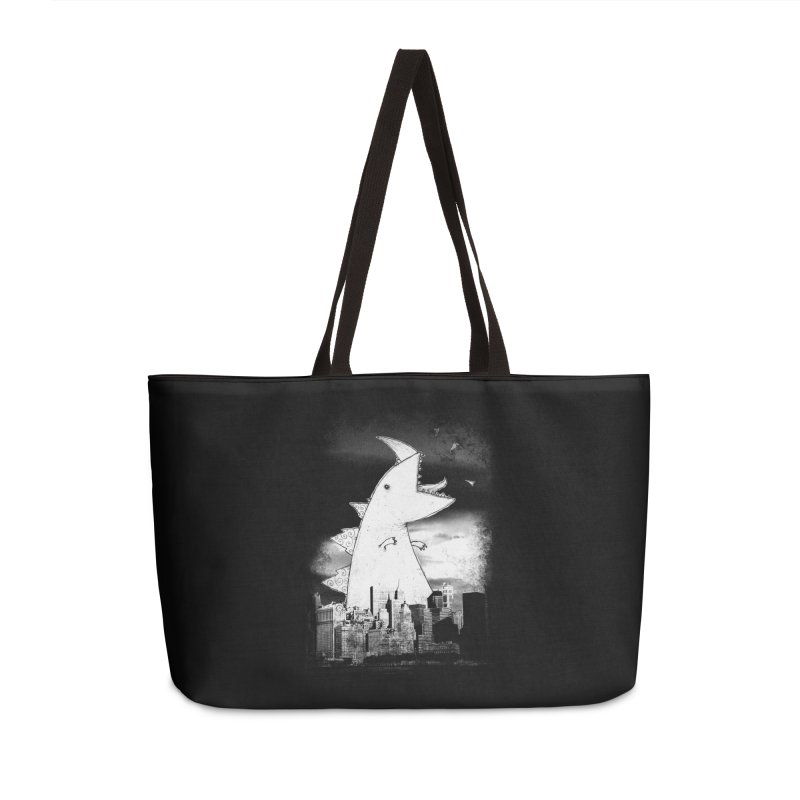 Attack Accessories Weekender Bag Bag by DinoMike's Artist Shop