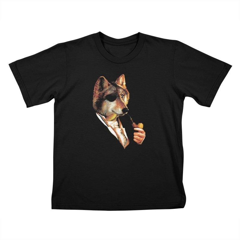 Baron von Wolf Hatches a Plan Kids Toddler T-Shirt by DinoMike's Artist Shop