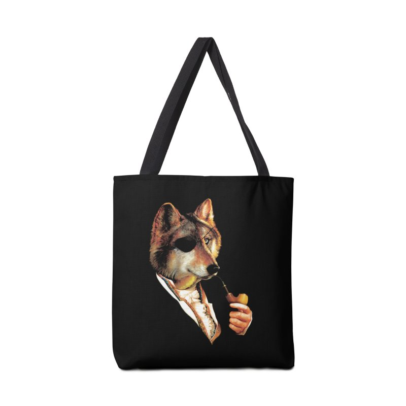 Baron von Wolf Hatches a Plan Accessories Tote Bag Bag by DinoMike's Artist Shop