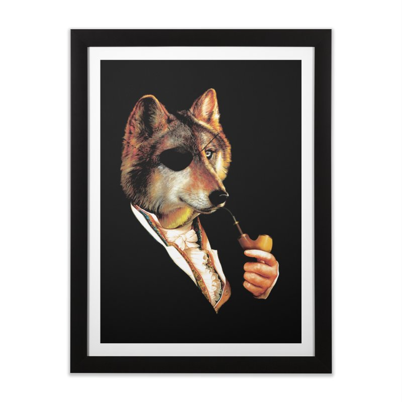 Baron von Wolf Hatches a Plan Home Framed Fine Art Print by DinoMike's Artist Shop