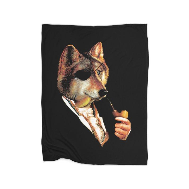 Baron von Wolf Hatches a Plan Home Blanket by DinoMike's Artist Shop