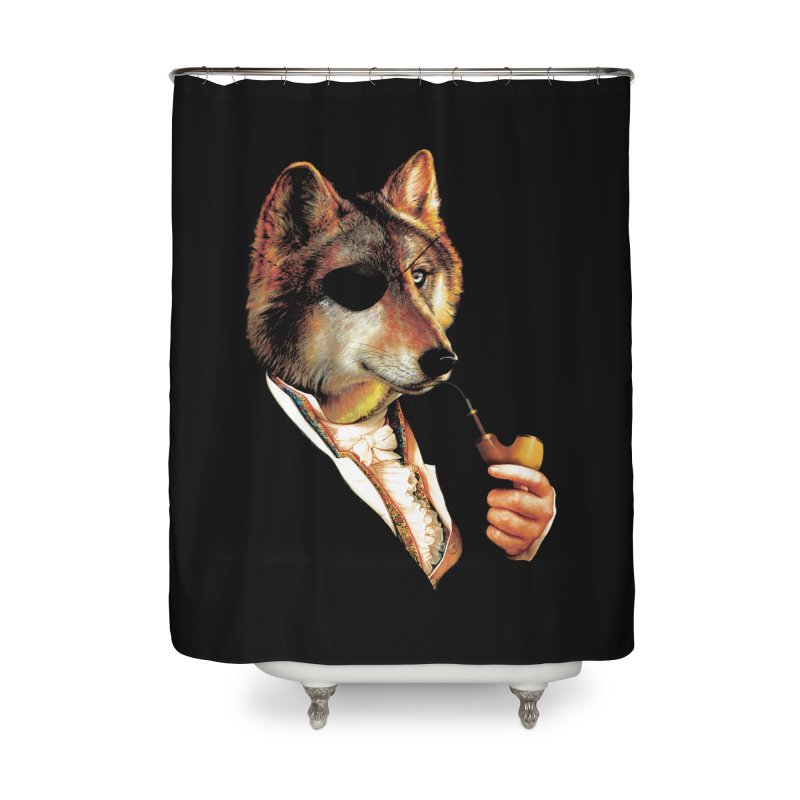 Baron von Wolf Hatches a Plan Home Shower Curtain by DinoMike's Artist Shop