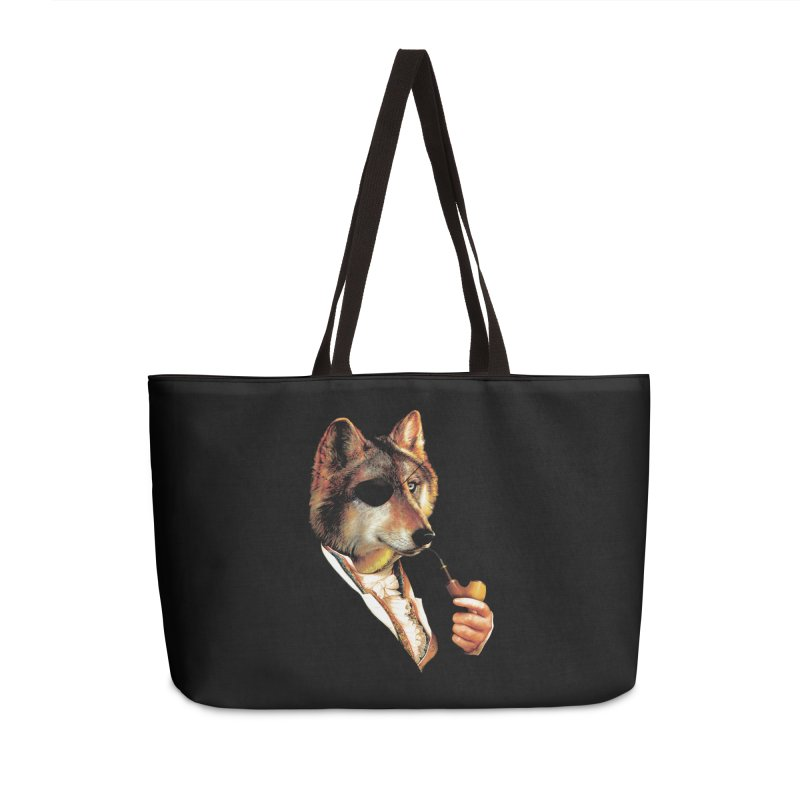 Baron von Wolf Hatches a Plan Accessories Weekender Bag Bag by DinoMike's Artist Shop