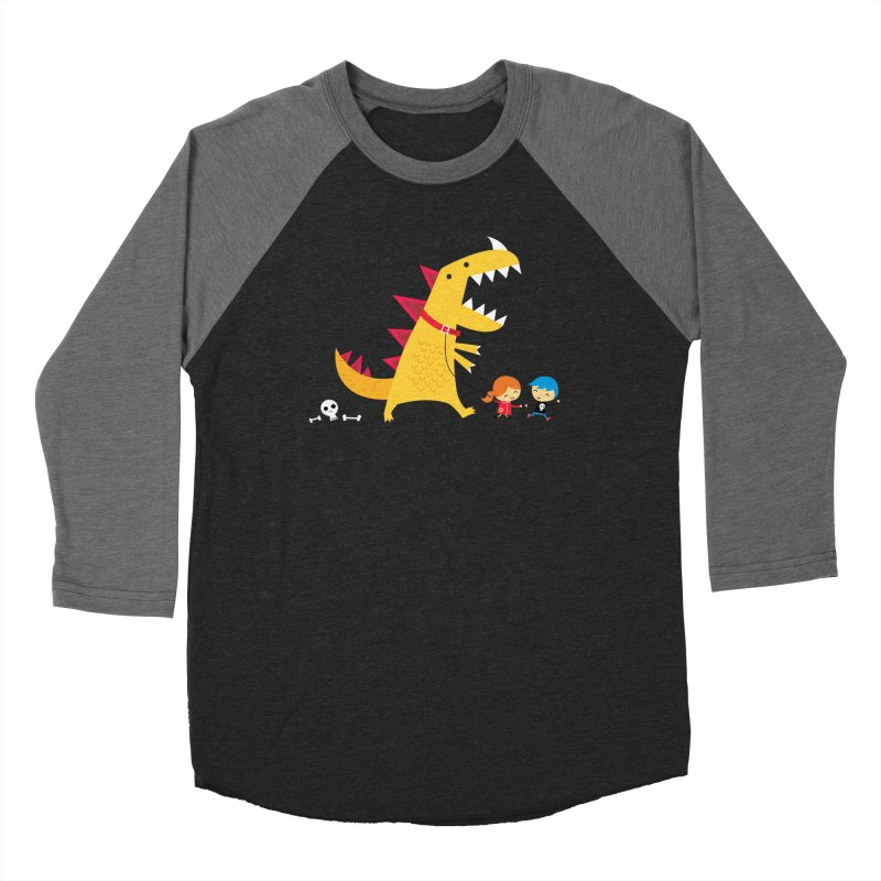Dino Walk Men's Longsleeve T-Shirt by DinoMike's Artist Shop