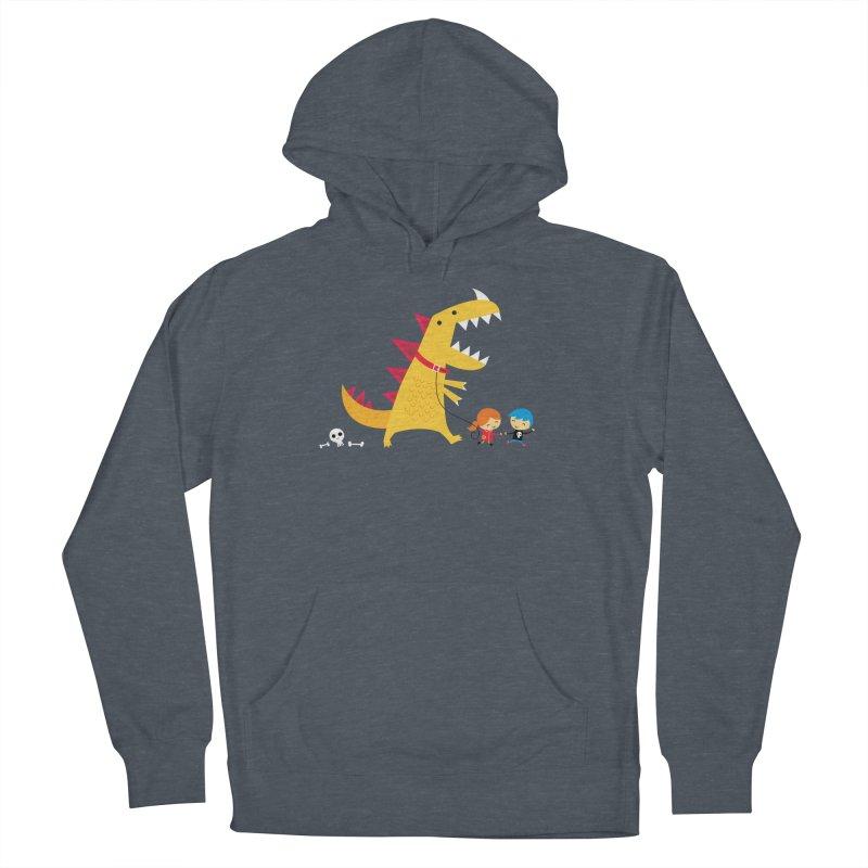 Dino Walk Women's Pullover Hoody by DinoMike's Artist Shop