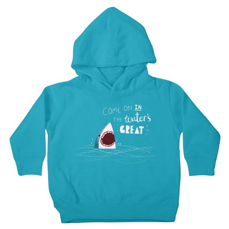 Great Advice Shark Kids Toddler Pullover Hoody by DinoMike's Artist Shop