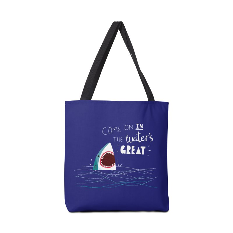 Great Advice Shark Accessories Bag by DinoMike's Artist Shop