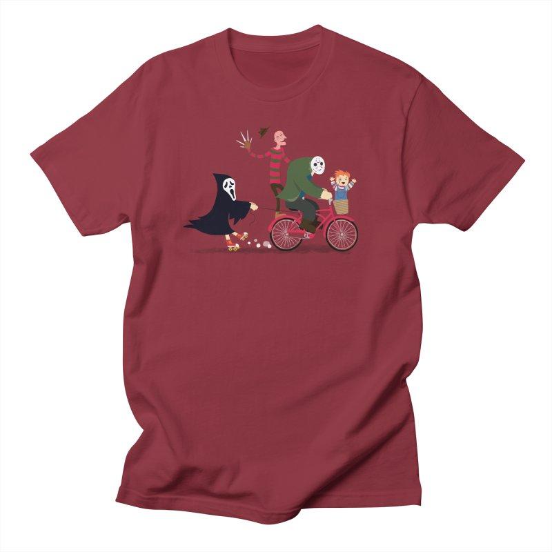 Horror Night Off Men's T-Shirt by DinoMike's Artist Shop