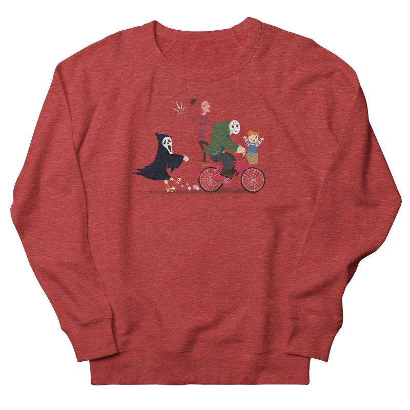 Horror Night Off Men's Sweatshirt by DinoMike's Artist Shop