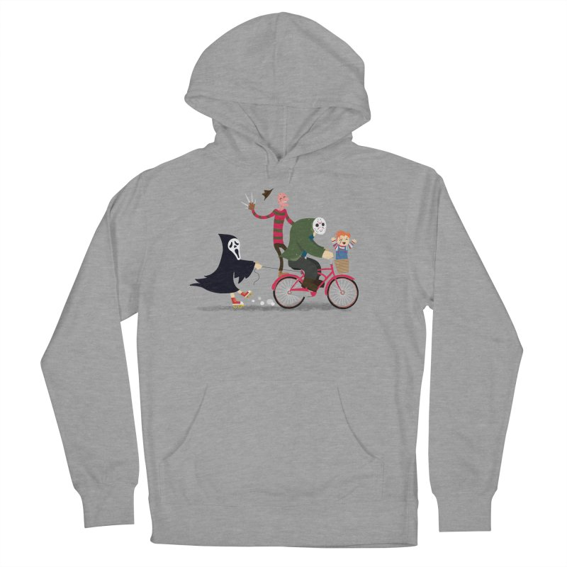 Horror Night Off Women's French Terry Pullover Hoody by DinoMike's Artist Shop