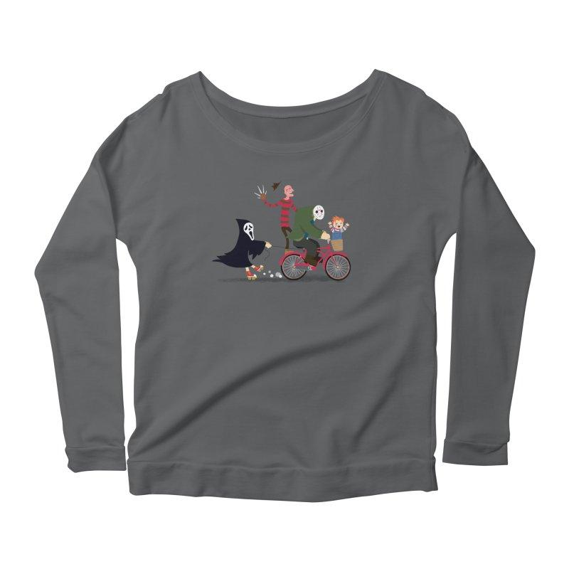 Horror Night Off Women's Longsleeve T-Shirt by DinoMike's Artist Shop