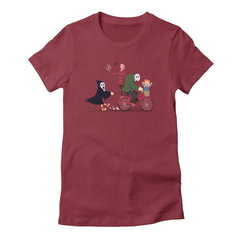 Horror Night Off Women's T-Shirt by DinoMike's Artist Shop