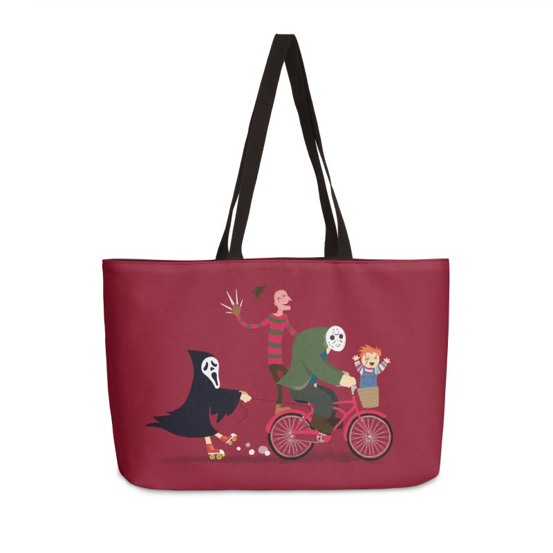 Horror Night Off Accessories Weekender Bag Bag by DinoMike's Artist Shop