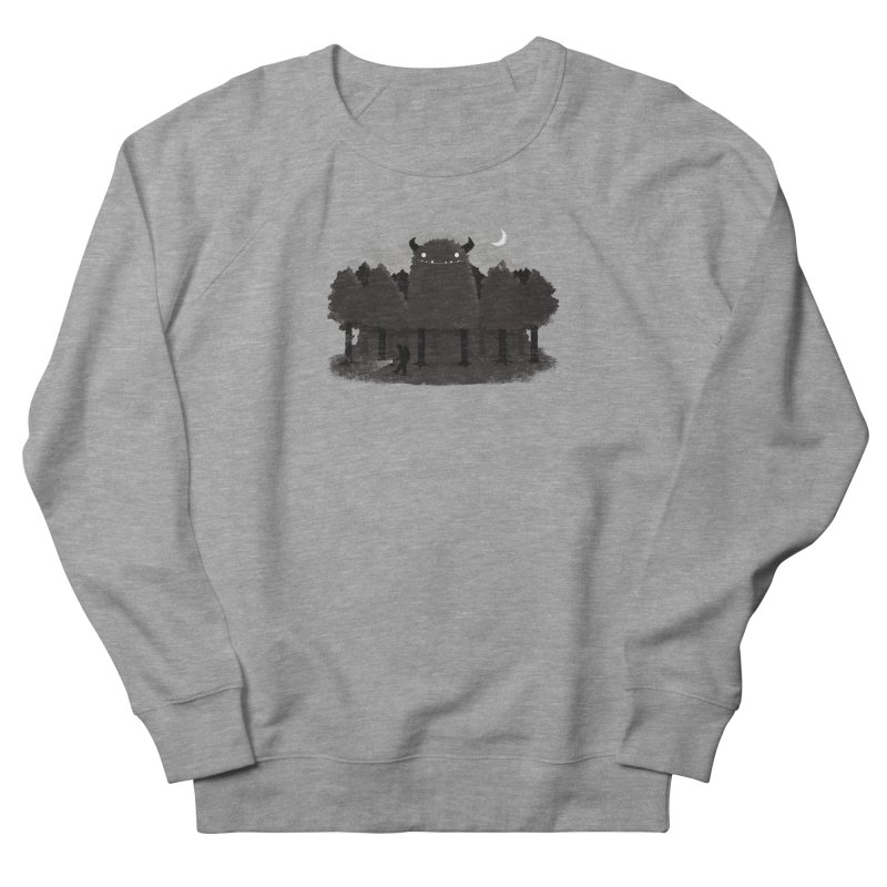 Monster Hunting Men's Sweatshirt by DinoMike's Artist Shop