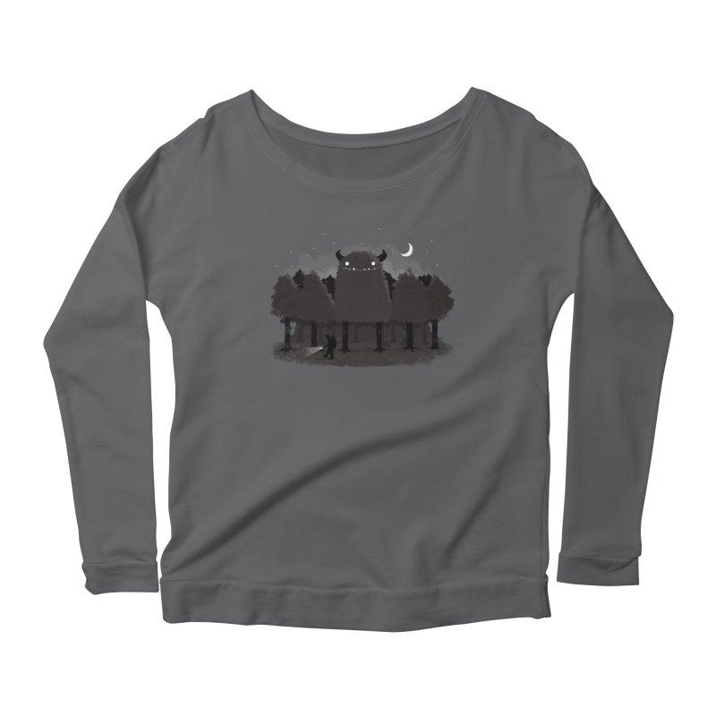 Monster Hunting Women's Longsleeve T-Shirt by DinoMike's Artist Shop
