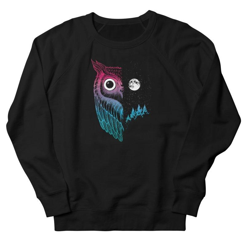 Night Owl Women's French Terry Sweatshirt by DinoMike's Artist Shop