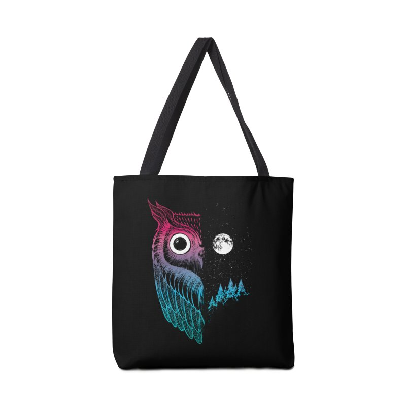 Night Owl Accessories Bag by DinoMike's Artist Shop