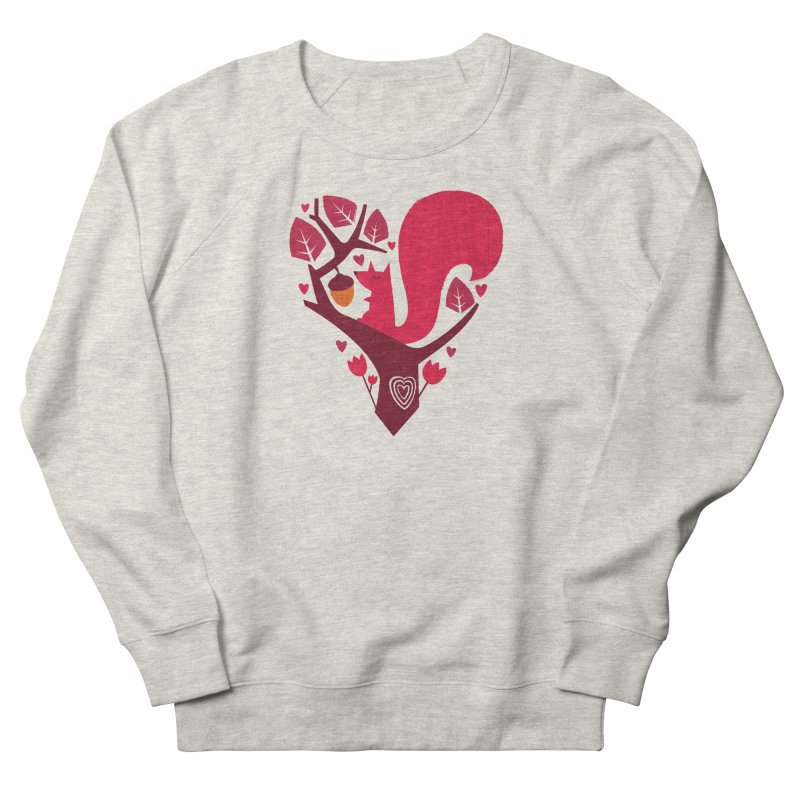 Nuts About You Women's Sweatshirt by DinoMike's Artist Shop
