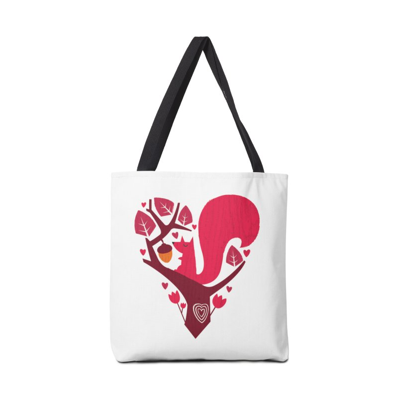 Nuts About You Accessories Tote Bag Bag by DinoMike's Artist Shop