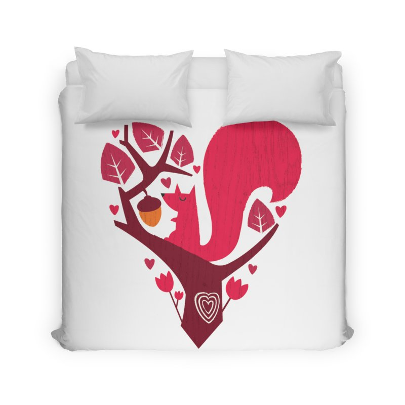 Nuts About You Home Duvet by DinoMike's Artist Shop