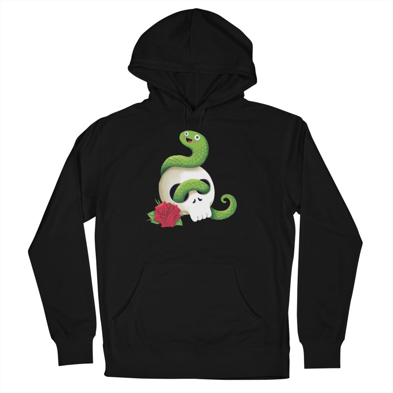 Ultra Badass Snake Women's French Terry Pullover Hoody by DinoMike's Artist Shop