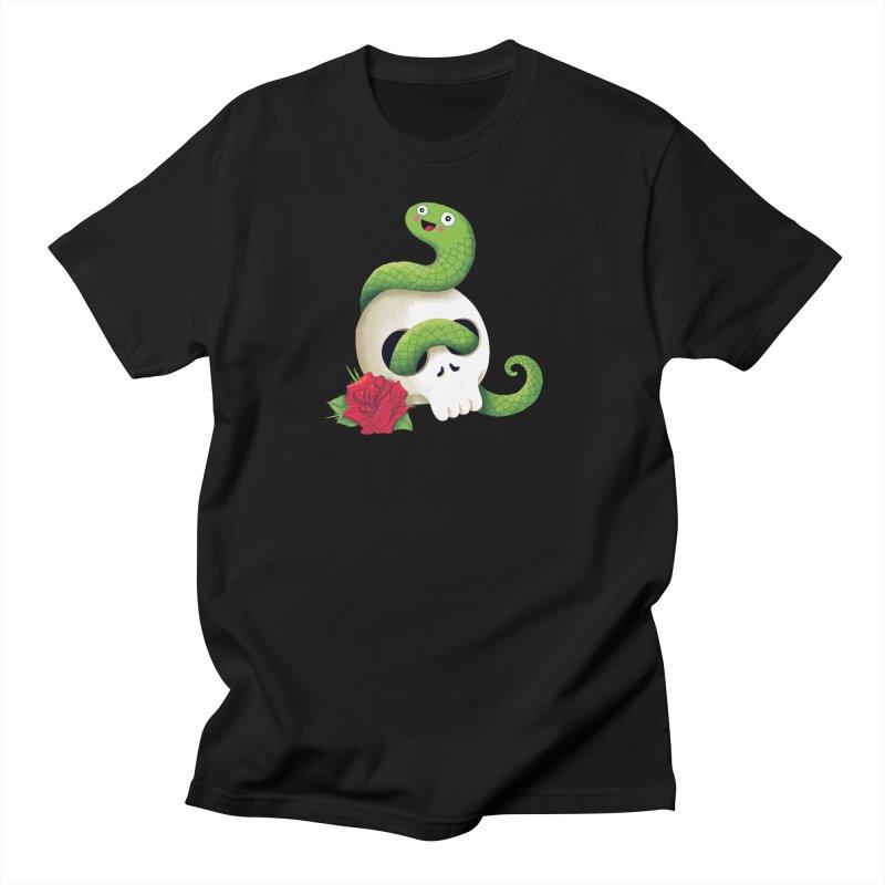Ultra Badass Snake Men's T-Shirt by DinoMike's Artist Shop