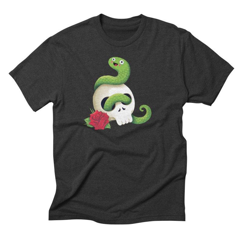 Ultra Badass Snake Men's Triblend T-shirt by DinoMike's Artist Shop
