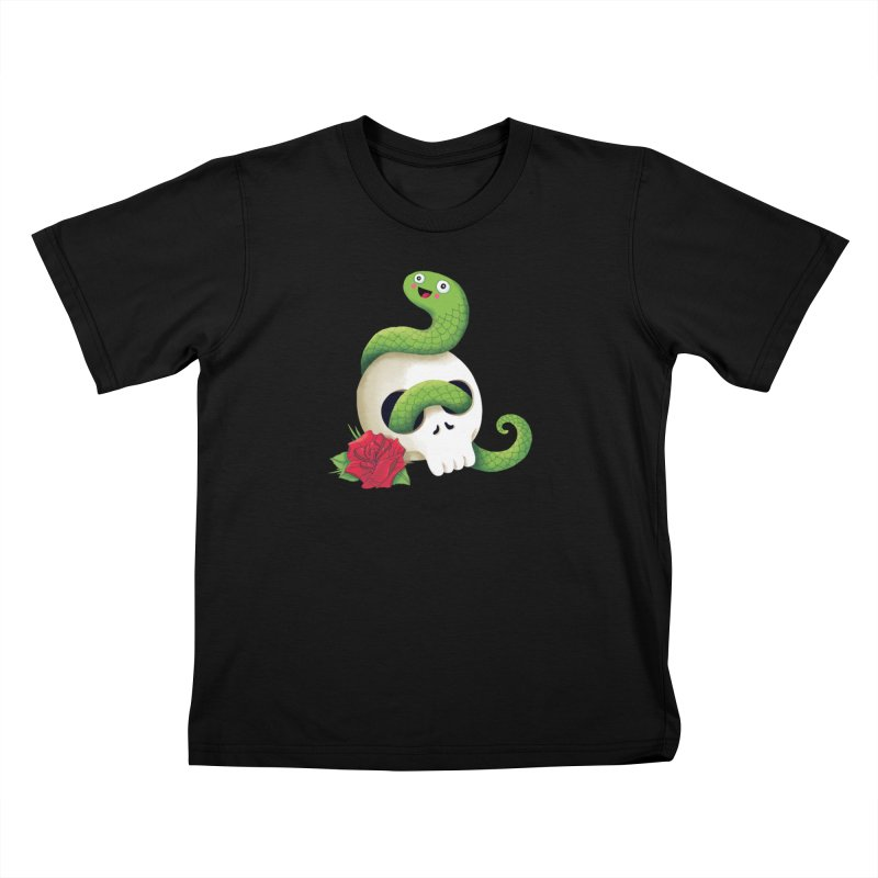 Ultra Badass Snake Kids Toddler T-Shirt by DinoMike's Artist Shop