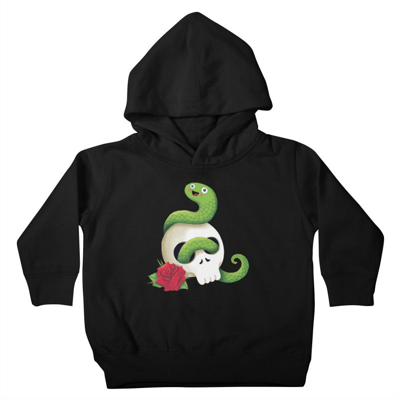 Ultra Badass Snake Kids Toddler Pullover Hoody by DinoMike's Artist Shop