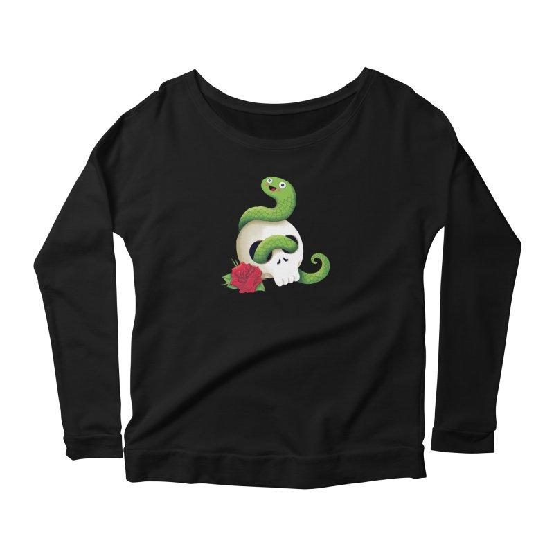 Ultra Badass Snake Women's Longsleeve T-Shirt by DinoMike's Artist Shop