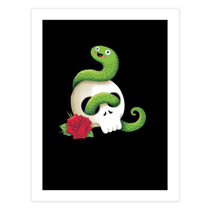 Ultra Badass Snake Home Fine Art Print by DinoMike's Artist Shop