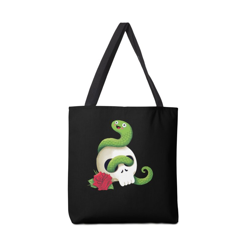 Ultra Badass Snake Accessories Tote Bag Bag by DinoMike's Artist Shop