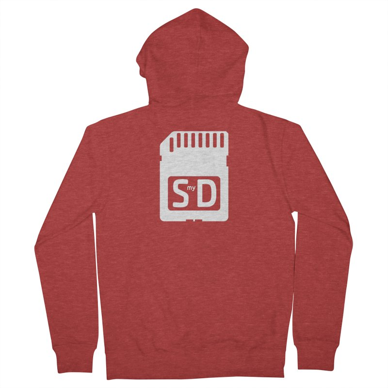 SmyD Pro Men's French Terry Zip-Up Hoody by dinonuggets's Artist Shop