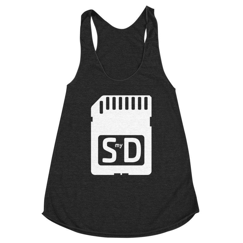 SmyD Pro Women's Racerback Triblend Tank by dinonuggets's Artist Shop