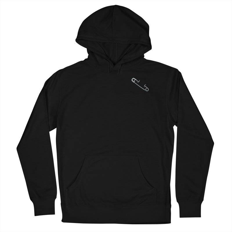 #SafetyPin Men's French Terry Pullover Hoody by dinonuggets's Artist Shop