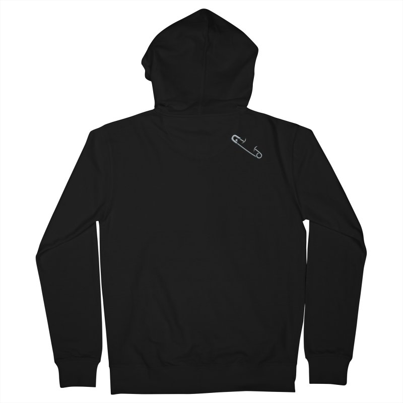 #SafetyPin Women's French Terry Zip-Up Hoody by dinonuggets's Artist Shop